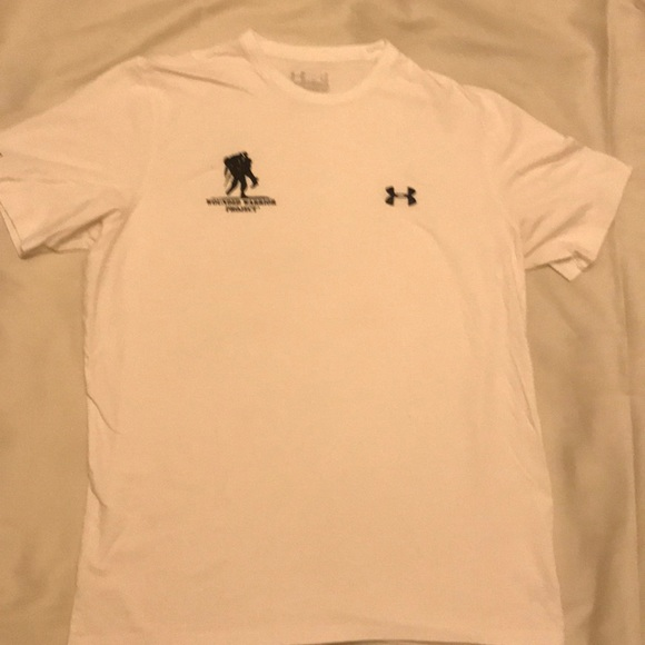 130dd665 Under Armour Shirts   Nwot Wounded Warriors Tee   Poshmark